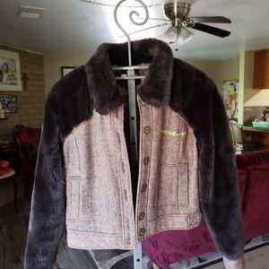 Rocawear faux fur jacket